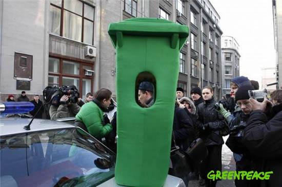 Greenpeace Vs. Russian Police