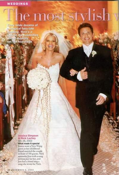 jessica simpson wedding pictures. Jessica Simpson