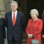 Queen with President Bill Clinton - supiri.com