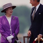 Queen with President George H. W. Bush - supiri.com