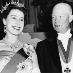 Queen with President Dwight D. Eisenhower - supiri.com